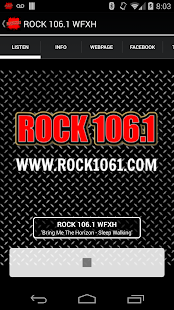 ROCK 106.1 WFXH - screenshot thumbnail