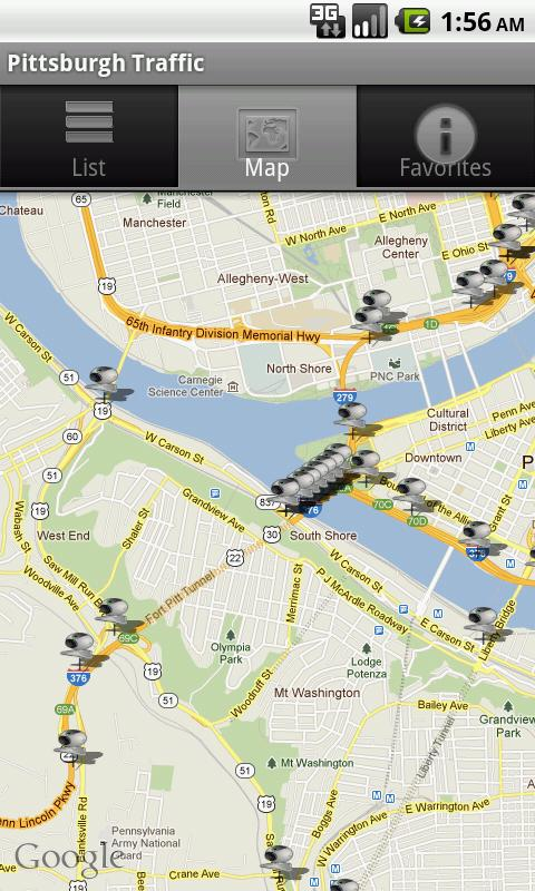Pittsburgh Traffic Cameras - Android Apps on Google Play