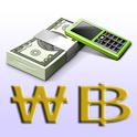 바트 계산기 - 환율 계산기 icon