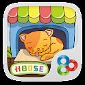 Kitten house GO Launcher Theme icon