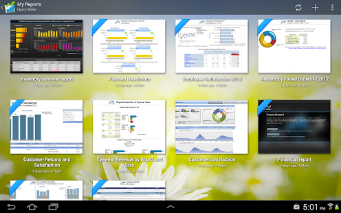 IBM Cognos Mobile- screenshot thumbnail
