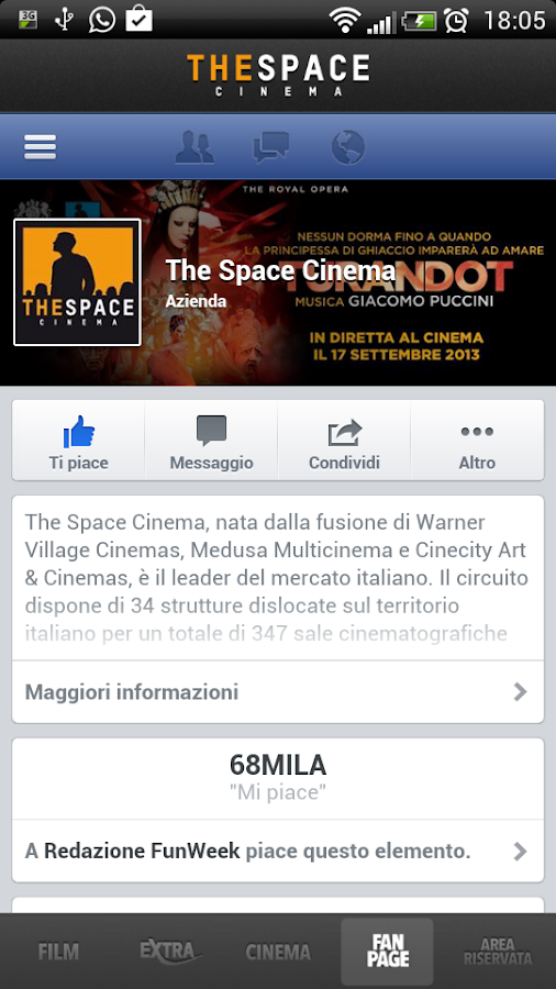 The Space Cinema- screenshot