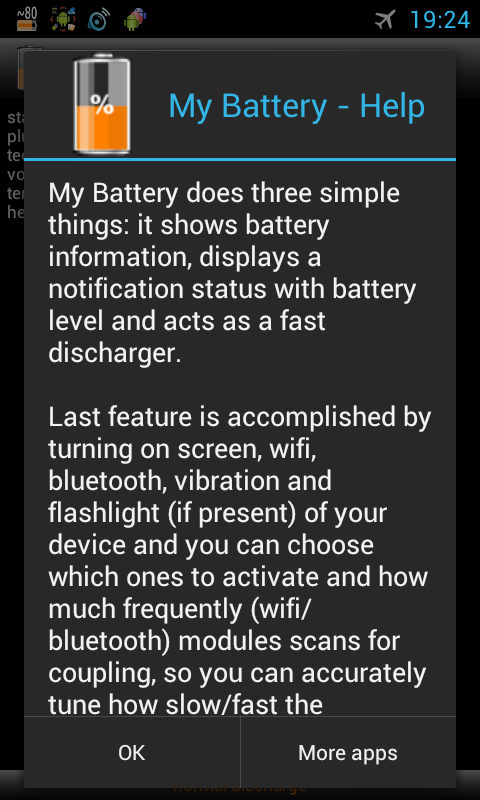 My Battery info discharge- screenshot