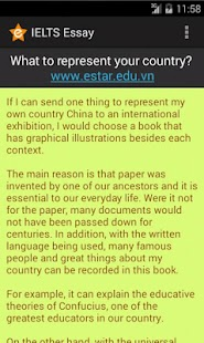 IELTS Essay- screenshot thumbnail
