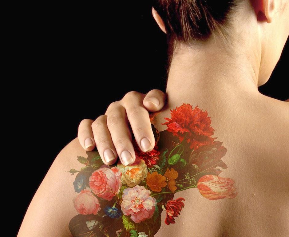 Tatoeage ontworpen door Droog  Studio Droog   Detail van Stilleven met    Xvii Tattoo