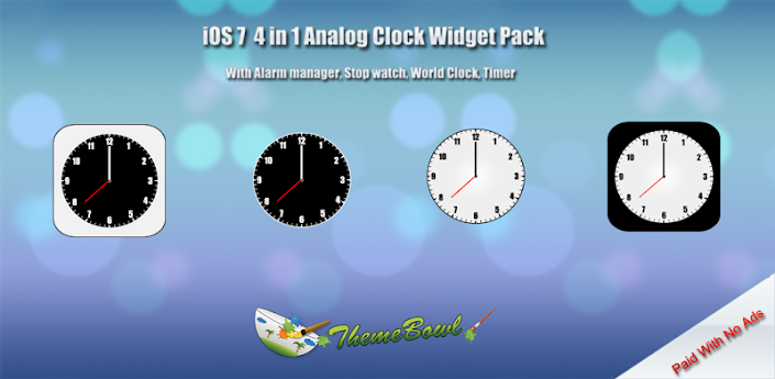 iOS 7 Clock Widget Pack - Android Forums at AndroidCentral com