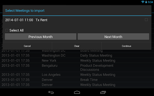 Meeting Minutes Pro - screenshot thumbnail