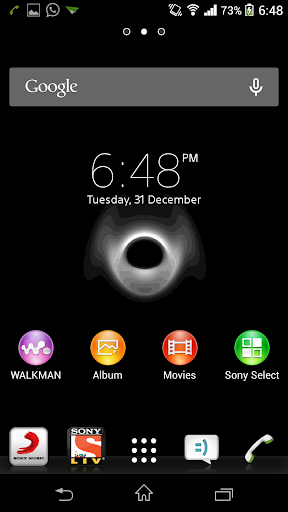 Black Hole Live Wallpaper