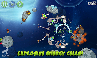 Angry Birds Space HD Screenshot 28