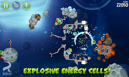 Angry Birds Space HD Screenshot 24