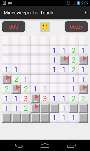 Minesweeper for Touch