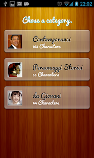 Il Quiz dei personaggi famosi- screenshot thumbnail