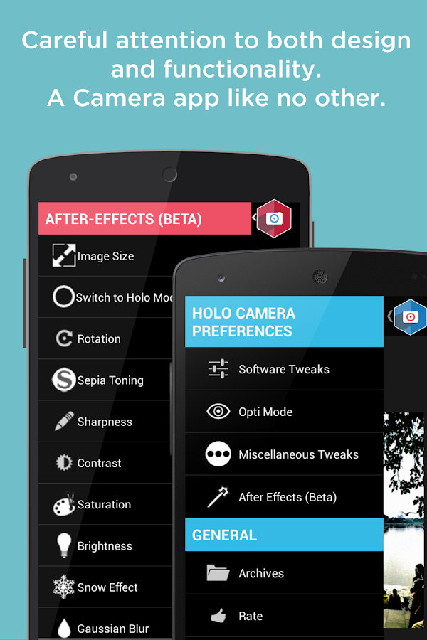 Holo Camera PLUS - screenshot