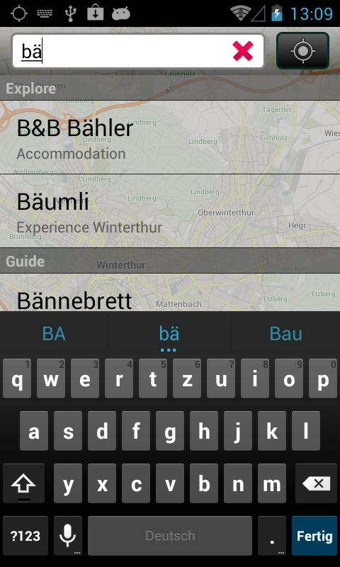 City Guide Winterthur - screenshot