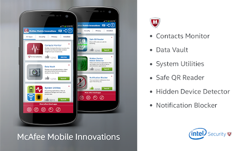 McAfee Security Innovations - screenshot thumbnail