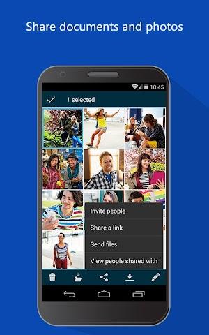 android OneDrive Screenshot 4