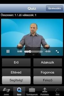 Hallatlan jelnyelvi szótár II. - screenshot thumbnail