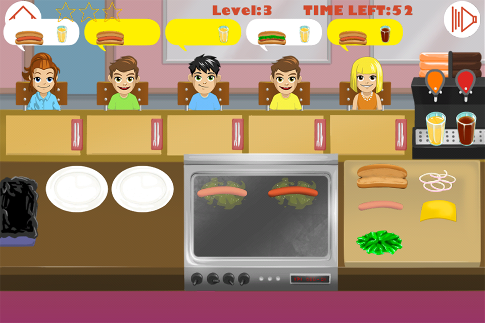 Hot dog jeu de cuisine applications android sur google play - Jeu de cuisine android ...