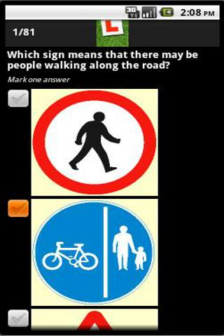 UK Driving  Theory Test Lite - screenshot