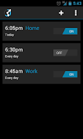 Screenshot of CircleAlarm (Holo Alarm Clock)
