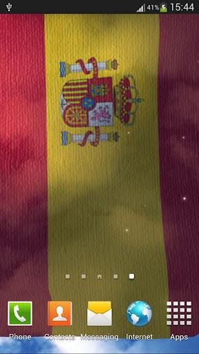 西班牙國旗動態桌布