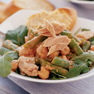 Tuna-Garbanzo Salad.