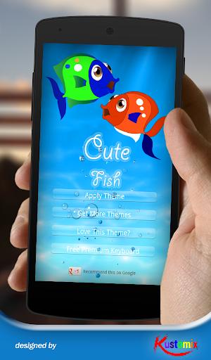 Cute Fish Keyboard