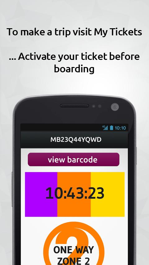 MBTA mTicket - screenshot