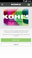 Screenshot of Kohl's