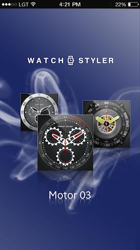 Watch Face Gear - Motor3