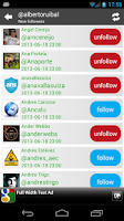 Screenshot of Track my Followers for Twitter