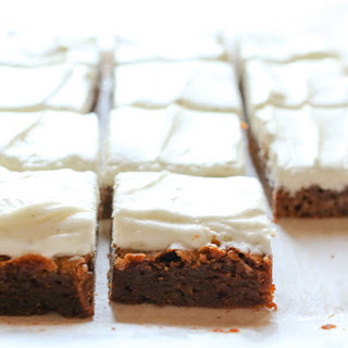 Gingerbread Cookie Bars {traditional and gluten free recipes}