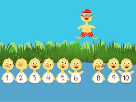 Screenshot of Numbers For Ducklings