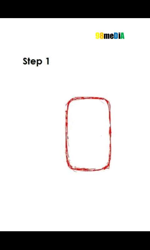 How to draw pikachu - screenshot