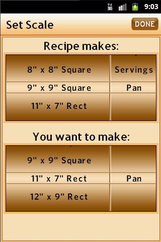 Recipe Elf - screenshot