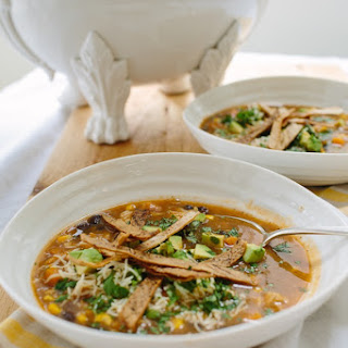 Sweet Potato-Chipotle Tortilla Soup.