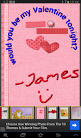 Screenshot of Valentines Day Cards