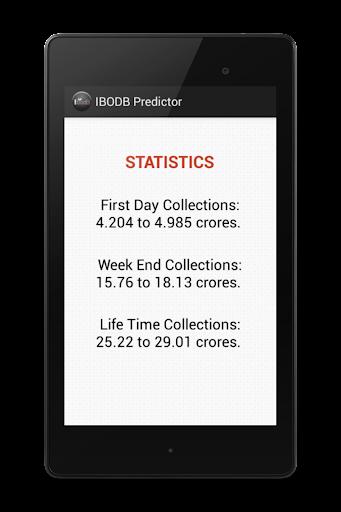 【免費娛樂App】IBODB Box Office Predictor-APP點子