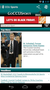 Coastal Carolina University- screenshot thumbnail