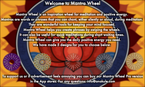 Mantra Wheel