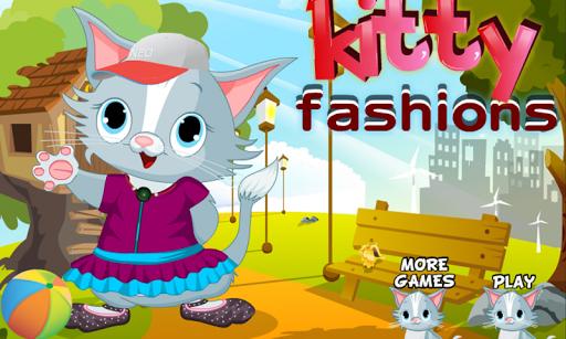 可爱的小猫换装 - 宠物游戏