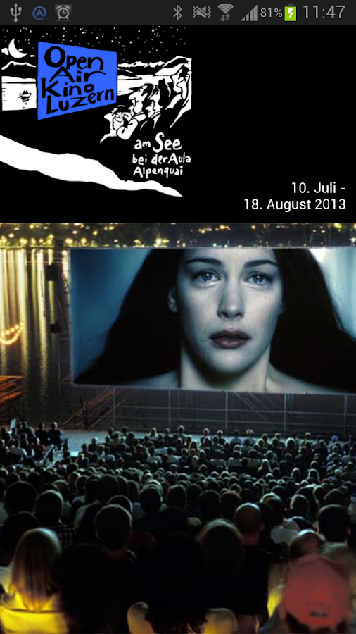 Open Air Kino- screenshot