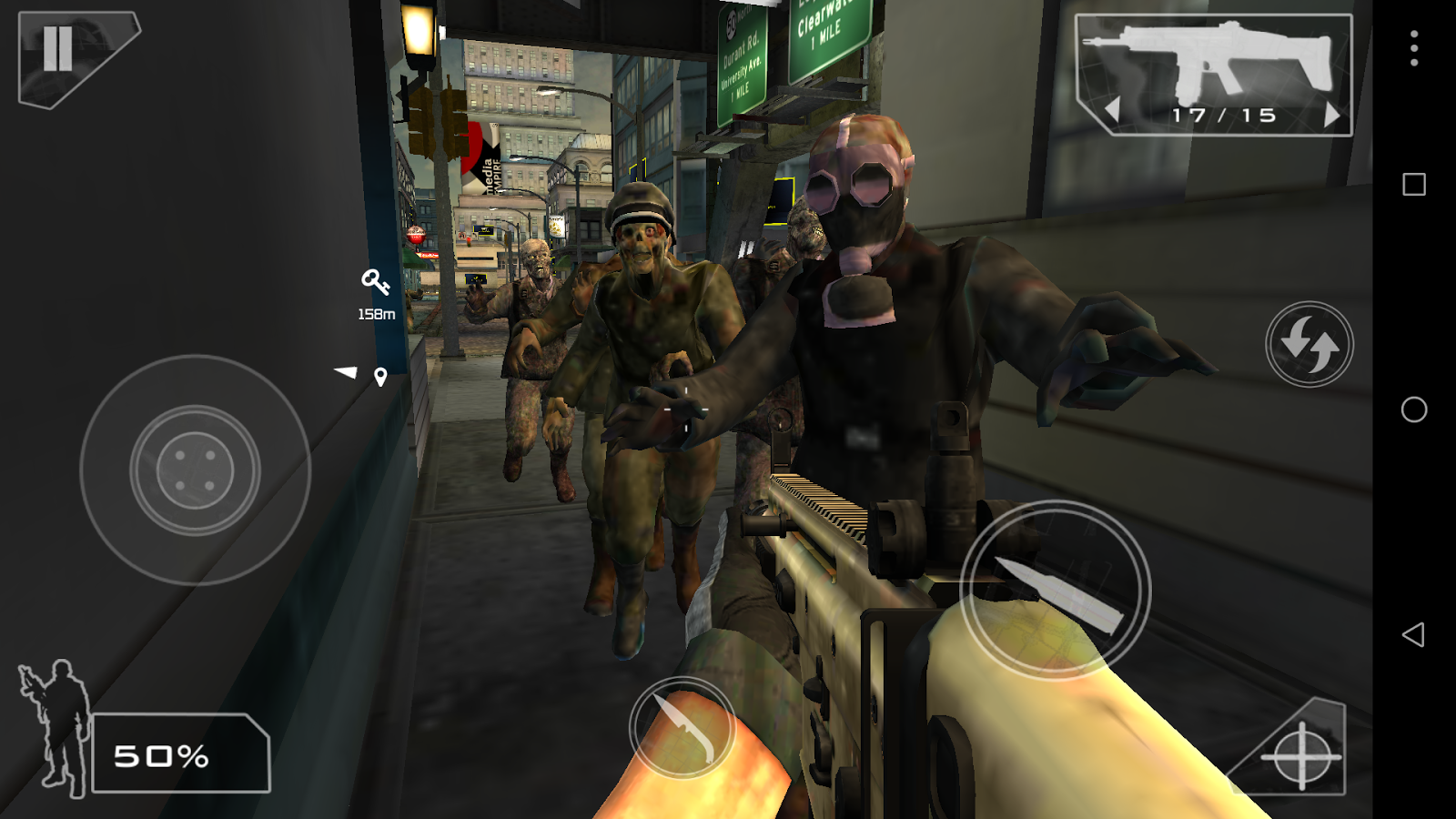 Green Force: Zombies Pro- screenshot