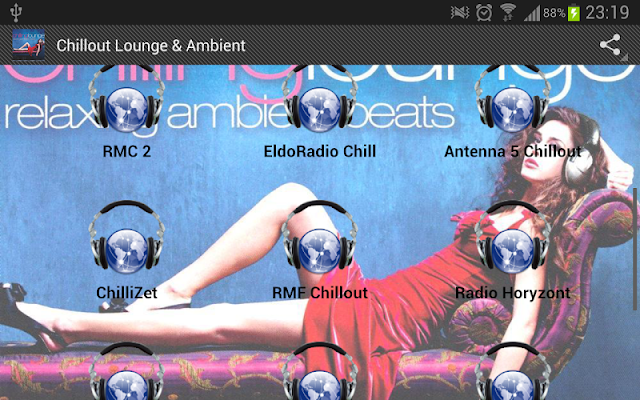 Chillout Lounge- Ambient Music - screenshot