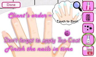 Screenshot of A-List Girl Nail Salon★