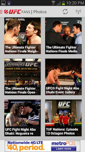 UFC Fans powered by MetroPCS - screenshot thumbnail