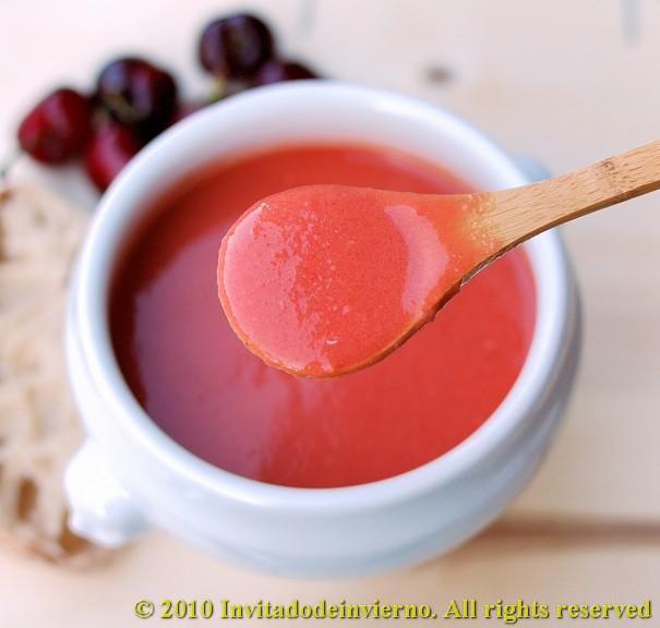 Gazpacho with Cherries Recipe