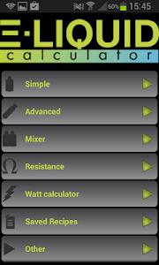 E-Liquid Calculator NOADS v3.4.6