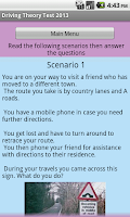 Screenshot of 100 highway code signs+Theory