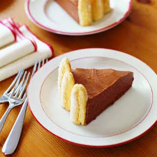 Chocolate Ice Box Cake.